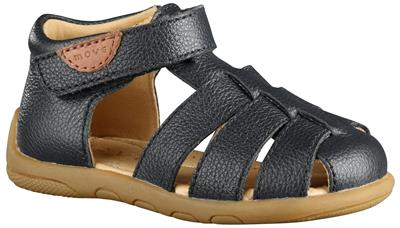 Move By Melton - Lukket sandal - Sort
