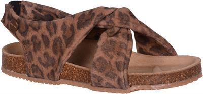 Move By Melton - Kork sandal - Leopard