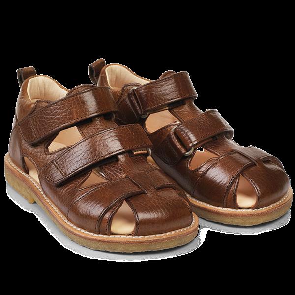 f7e00319c8a8 Angulus - sandal m 2 velcroluk - Cognac - str. 24-29