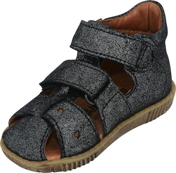 fff3c35a50c Bundgaard - sandal - Rabba Sort Glitter