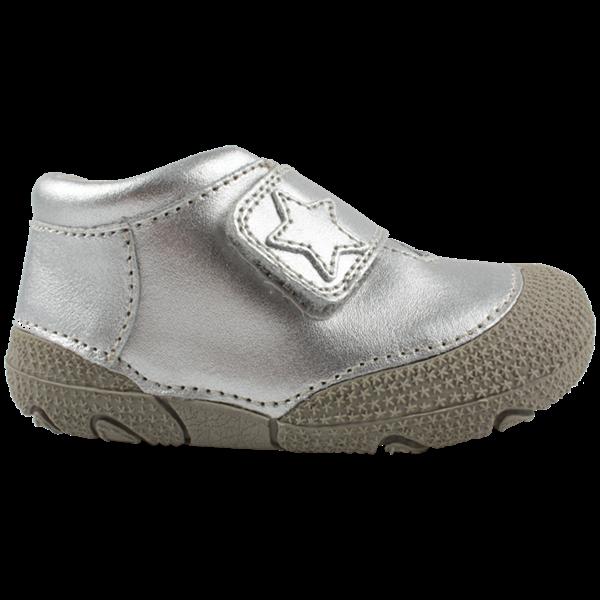 En Fant Prewalker sko sølv mvelcro