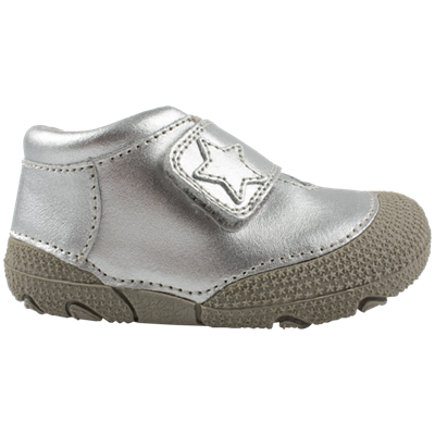 80eb7e64961e En Fant Prewalker sko - sølv m velcro