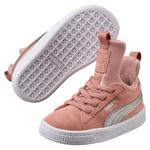 PUMA Suede Fierce - Peach Beige-Metallic - str. 21-27