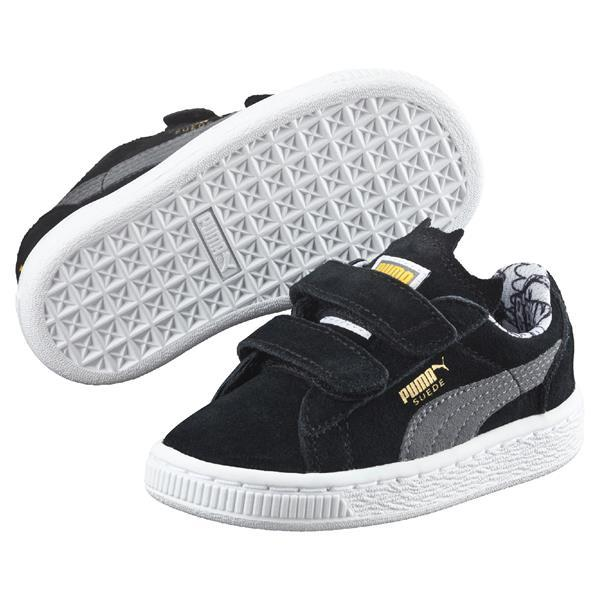PUMA Suede Batman - Sort m/velcro