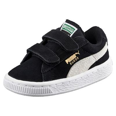 PUMA Suede - Sort - Str. 28-35